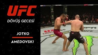 UFC Fight Night 149 | Jotko vs Amedovski