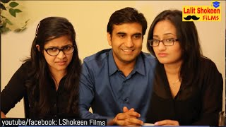 Desi Boy in Job Interview   | Lalit Shokeen Comedy |