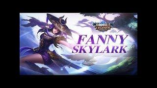 Mobile Legends: Bang Bang! Fanny New Skin | Skylark |