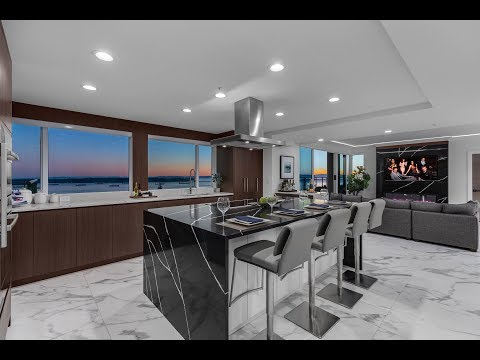 Sensational Penthouse | Ocean Views | West Vancouver