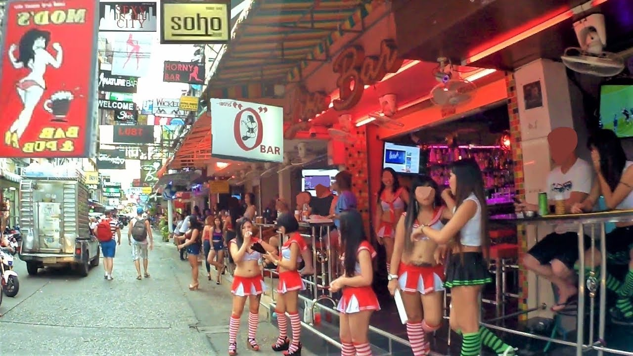Bar Walking Girls Street Pattaya