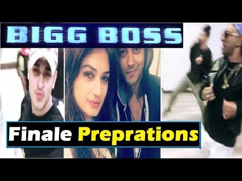 Ex-Contestants Preparing for Finale|| Bigboss 11|| Finale Shoot|| Weekend Ka Vaar