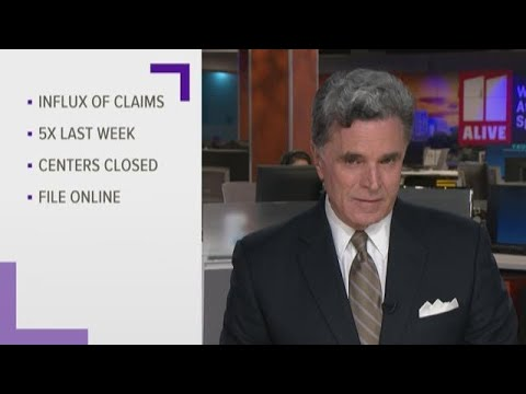 Georgia DOL inundated with unemployment claims