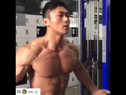 hunk korean muscle workout youtube