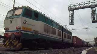 E655.178 sul TCS 61015 Milano Smistamento - Bicocca, in partenza da Roma Ostiense