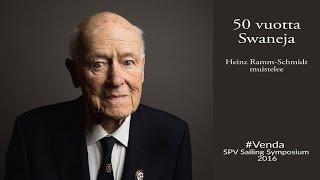 Heinz Ramm-Schmidt muistelee kuinka hänestä tuli ensimmäinen Nautor Swan asiakas