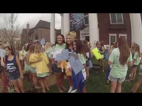 Pi Beta Phi Bid Day 2015 | University of Tennessee