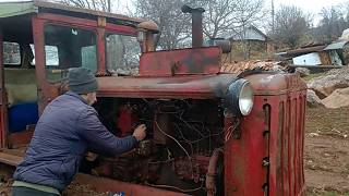 Starting Dt 75 Tractor
