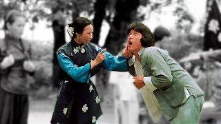 Джеки Чан (Фей-Хун) получил люлей от женщины | Jackie Chan (Fei-Hung) beaten by a woman