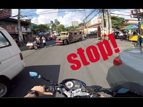 Foreigner Drives For The First Time In Manila, Philippines!
