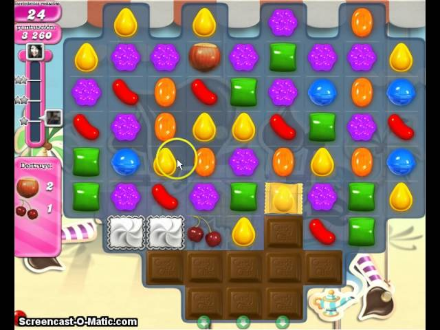 Candy Crush Saga Level 117 Travel Video