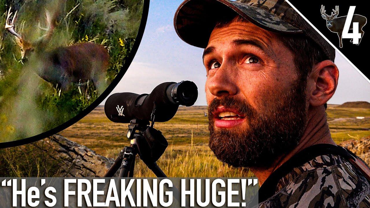 BIG Wyoming Public Land Whitetails! CAMP DESTROYED!?!