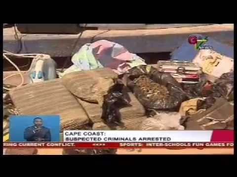 Suspected Criminals Arrested