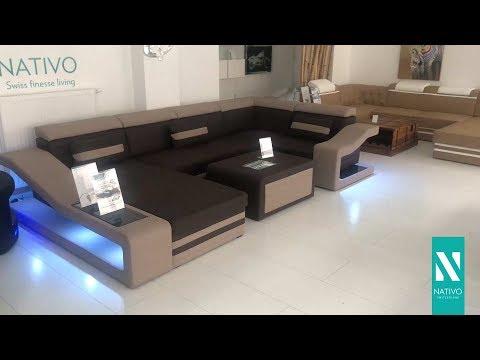 Download Nativo Möbel Schweiz Designer Sofa Mirage Xl Mit Led