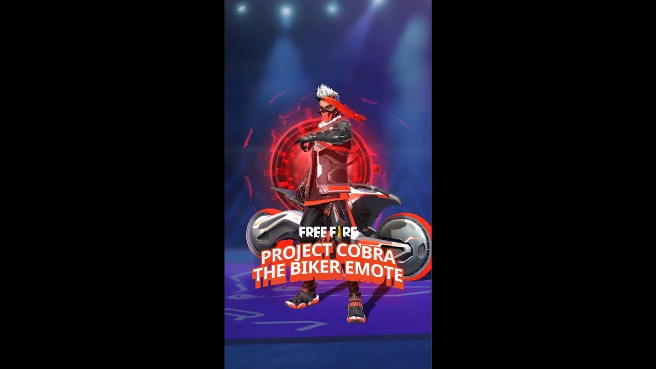 Project Cobra: The Biker Emote | Garena Free Fire