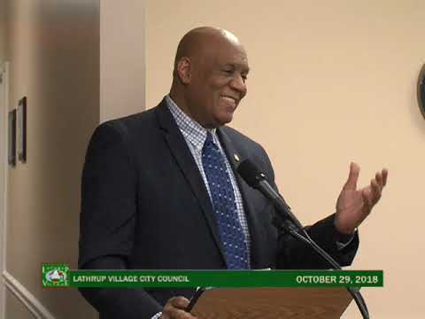 Lathrup Village City Council - October 29, 2018