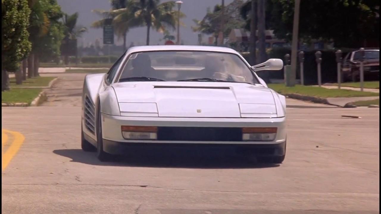 Miami Vice Ferrari Testarossa Youtube