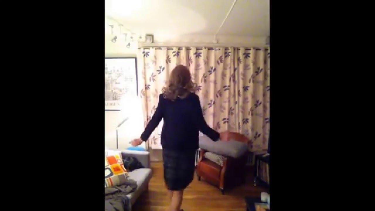 Crossdressing, sissy, office, test, - YouTube