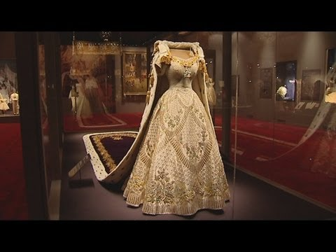 Buckingham Palace exhibition celebrates Queen Elizabeth's Coronation to mark the 60th anniversary