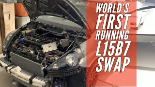First Running L15B7 Swapped Honda Fit