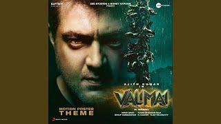 "Valimai Motion Poster Theme (From ""Valimai"")"
