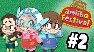 Animal Crossing Amiibo Festival - GAME CHANGER - PART 2 - Commander Holly Plays