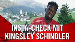 Instagram Check mit Kingsley Schindler |  1. FC Köln