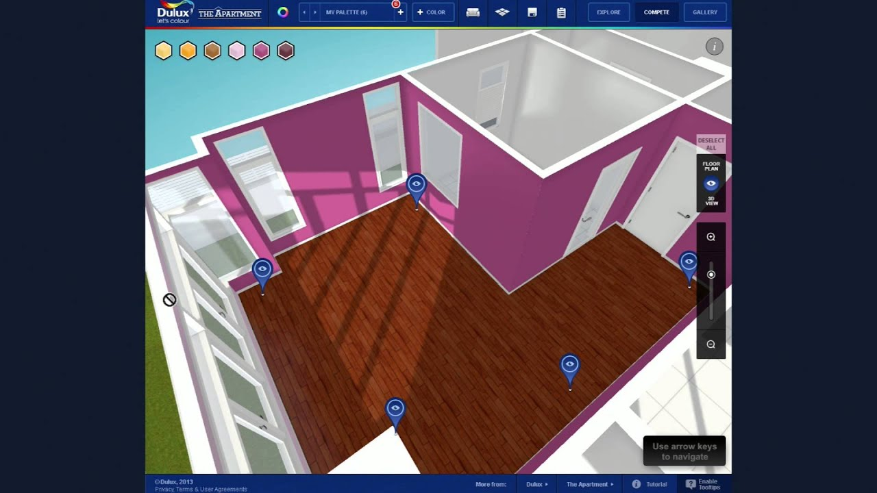 The Apartment with Dulux - Your Virtual Reality Decorating ...