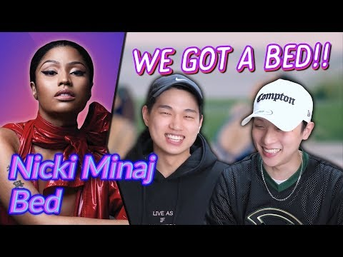 K-pop Artist Reaction Nicki Minaj - Bed ft Ariana Grande