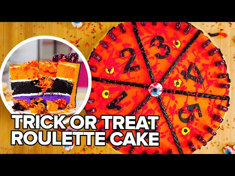 Halloween Surprise Inside Cake for Eh Bee Family | How To Cake It with Yolanda Gampp