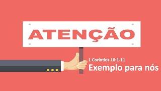 Culto ao Vivo - 21/03/2021   Exemplos Para Nós