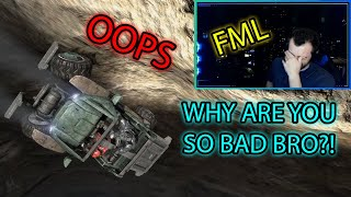 The Worst Driver Ever - Epic and Funny Twitch Stream Moments Part 4 (Valorant + Warzone + HALO MCC)