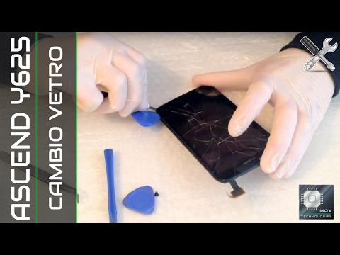 Huawei Ascend Y625 Sostituzione Vetro Touch