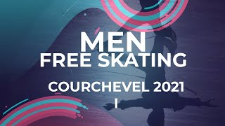 Ian VAUCLIN FRA Men Free Skating Courchevel 1 2021