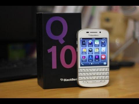 Blackberry q10 Unboxing
