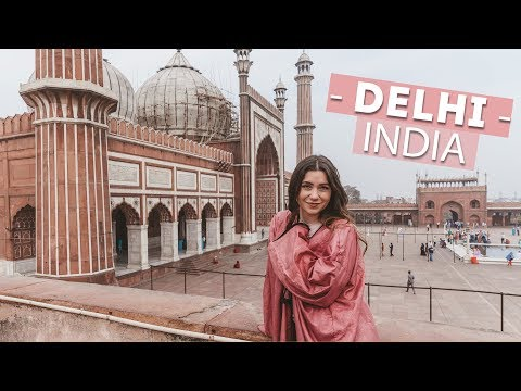 My Trip to Delhi + Travel-Proof Makeup Routine