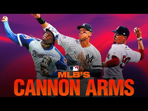 MLB's Cannon Arms! (The fielders who make the most insane throws!)  