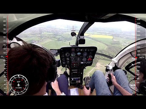 MD 500D Flying