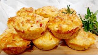 Muffin ou Tortinha Marguerita – Um Lanche Super Fácil, Rápido e Delicioso