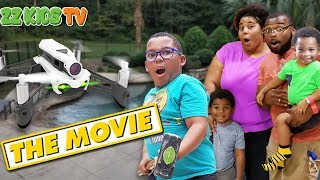 Drone Master The Movie! (What's In The Box) ZZ Kids TV Compilation