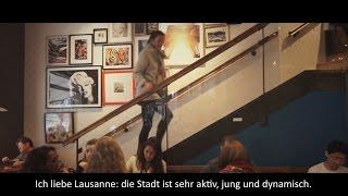 5 jours avec Lea Sprunger | 5/5 : Lausanne : ma ville, mon stade