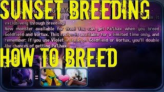 Monster Legends - Sunset Breeding Days | How to Breed MMOnster, ROFL, etc..