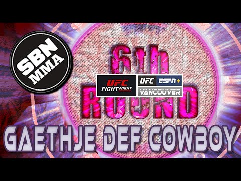 UFC Vancouver | Cowboy vs Gaethje | The 6th Round SBN MMA Post-Fight Show