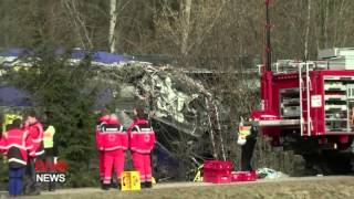 2 Passenger Trains Collide in Bad Aibling in Southeast Germany