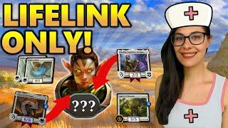 [MTG Arena] LIFELINK ONLY DECK | Mono White Lifelink Decks Guide