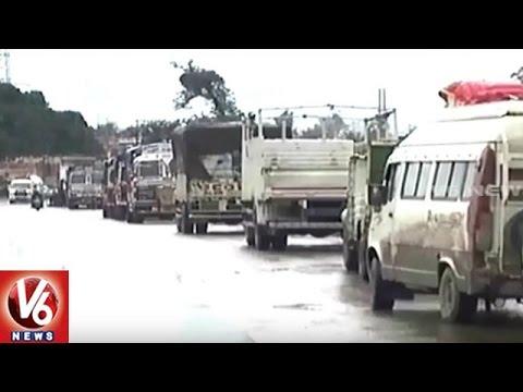 Jammu-Srinagar National Highway Closed Due To Heavy Snowfall |  V6 News