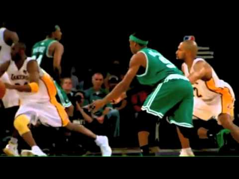 Ray Allen's perfect 3pt shot. - YouTube