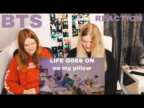 BTS (방탄소년단) 'Life Goes On' Official MV : on my pillow (REACTION)
