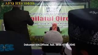 Qori'ah Wardatun Nisa Hasan Terbaik 2 MTQ Internasional di Malaysia 2019