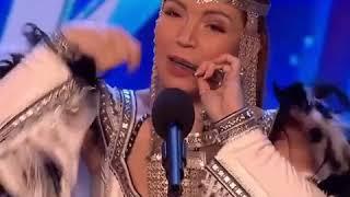 Хомусист виртуоз Ольга Подлужная выступила на шоу «Британия ищет таланты»